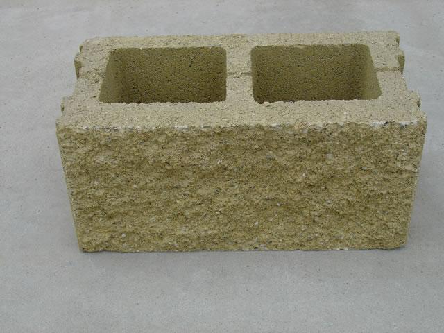 Blocco tavella splittato colorato 08x20x40 - Cemento colorato per esterno ...