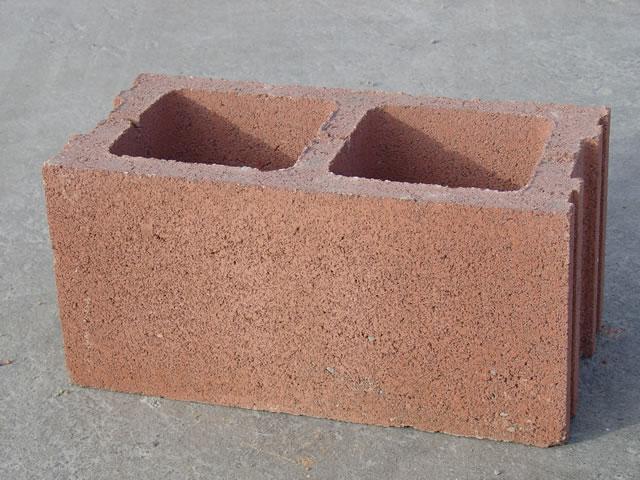 Blocchi Calcestruzzo Per Muri.Blocco Faccia A Vista Colorato Per Esterni 20x20x50