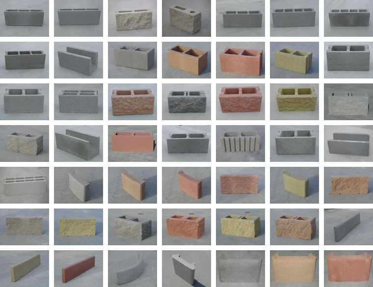 Vendita blocchi in cemento certificate ce - Cemento colorato per esterno ...